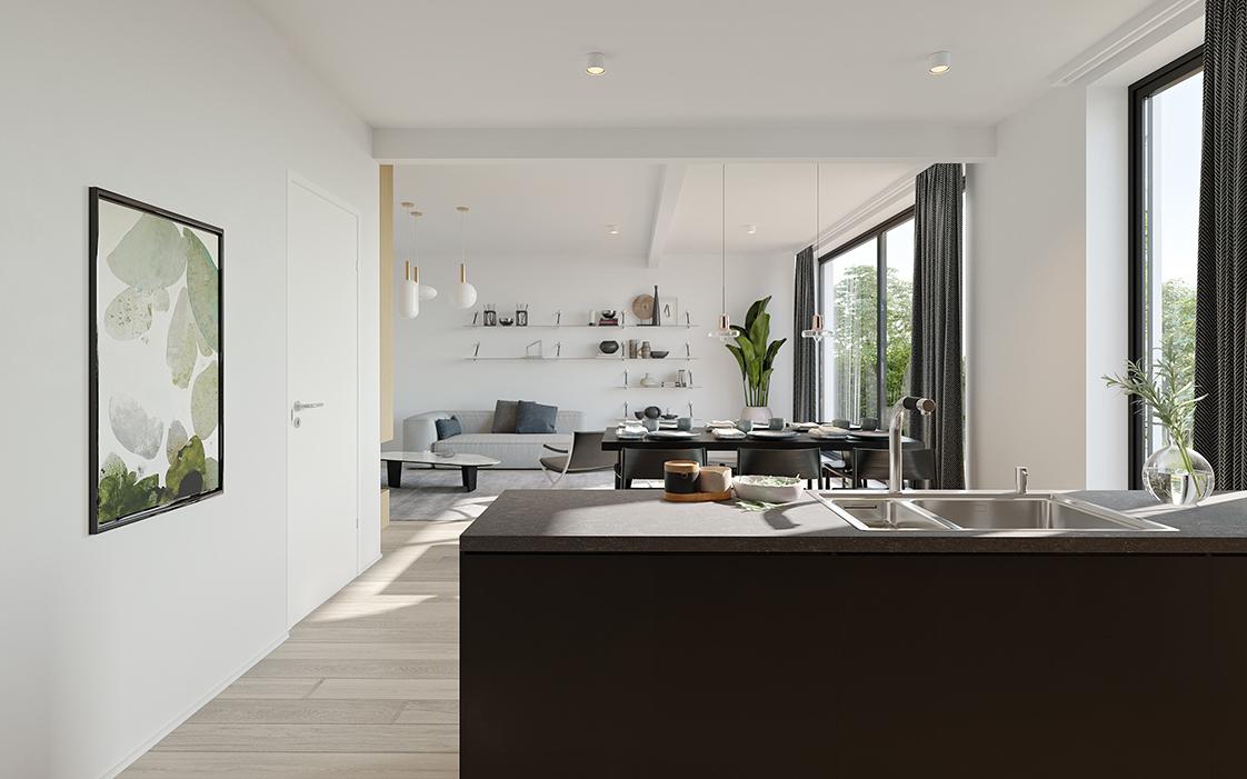 Prachtig 3-slaapkamer appartement te Zandhoven, met zicht op agrarisch gebied! afbeelding 1