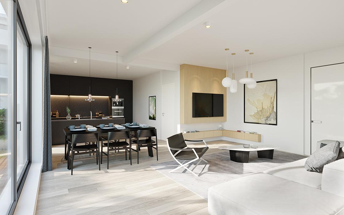 Prachtig 3-slaapkamer appartement te Zandhoven, met zicht op agrarisch gebied! afbeelding 2
