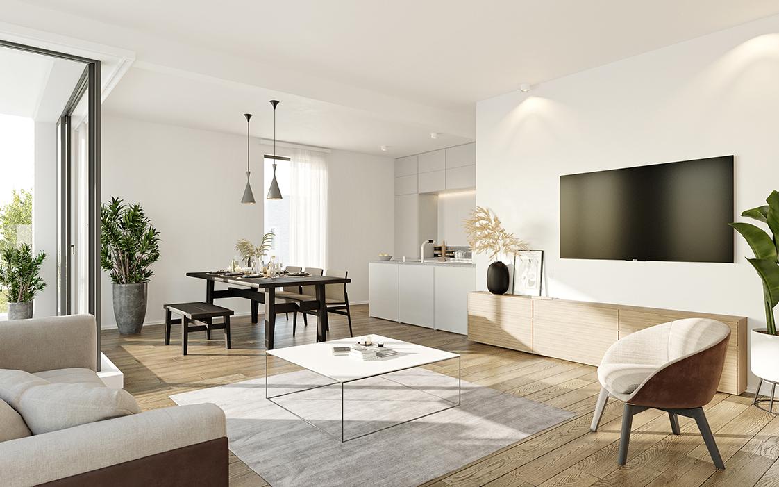 Prachtig 2-slaapkamer appartement te Zandhoven, met zicht op agrarisch gebied! afbeelding 1