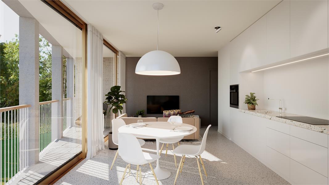 Nieuwbouw appartement op de gelijkvloers verdieping in prachtig binnengebied! afbeelding 1