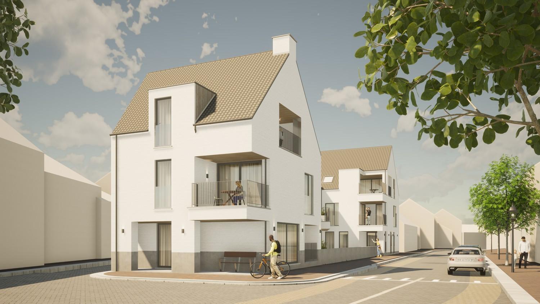 Licht en functioneel hoek appartement (+/-67m²) met 1 slaapkamer en een zuidgeoriënteerd terras (+/-6,2m²)! afbeelding 1