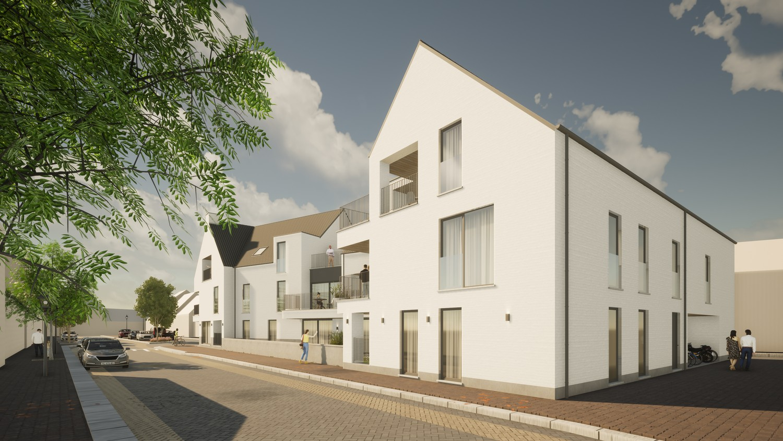 Licht en functioneel hoek appartement (+/-67m²) met 1 slaapkamer en een zuidgeoriënteerd terras (+/-6,2m²)! afbeelding 2