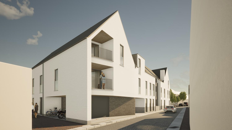 Licht en functioneel appartement (+/-84,70m²) met 2 slaapkamers en een zuidoost-georiënteerd terras (+/-10,6m²)! afbeelding 3