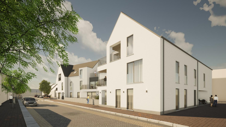Licht en functioneel appartement (+/-98,80m²) met 2 slaapkamers en een zuidoost-georiënteerd terras (+/-8,8m²)! afbeelding 1